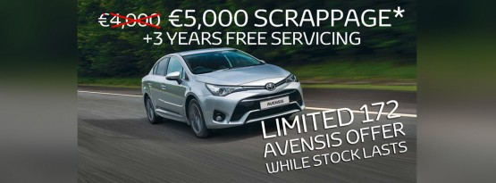 Want A Guaranteed €5,000 for your old car?