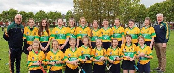 Congradulations to Faughs Camogie