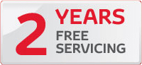 """2 Years FREE Servicing"""