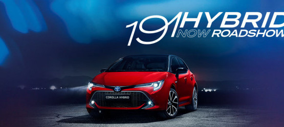 Our all new Hybrid range is here @ Toyota Tallaght 7th January from 9am - 12:30