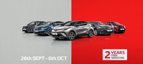 Toyota Plus Autumn Sales Event