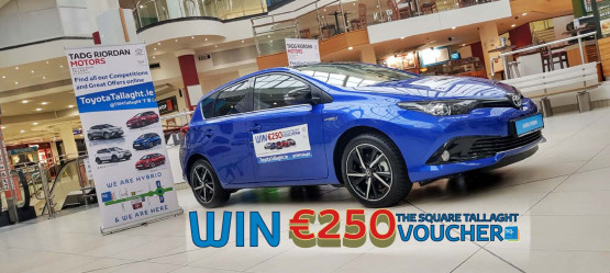 WIN A €250 SHOPPING VOUCHER FOR THE SQUARE TALLAGHT